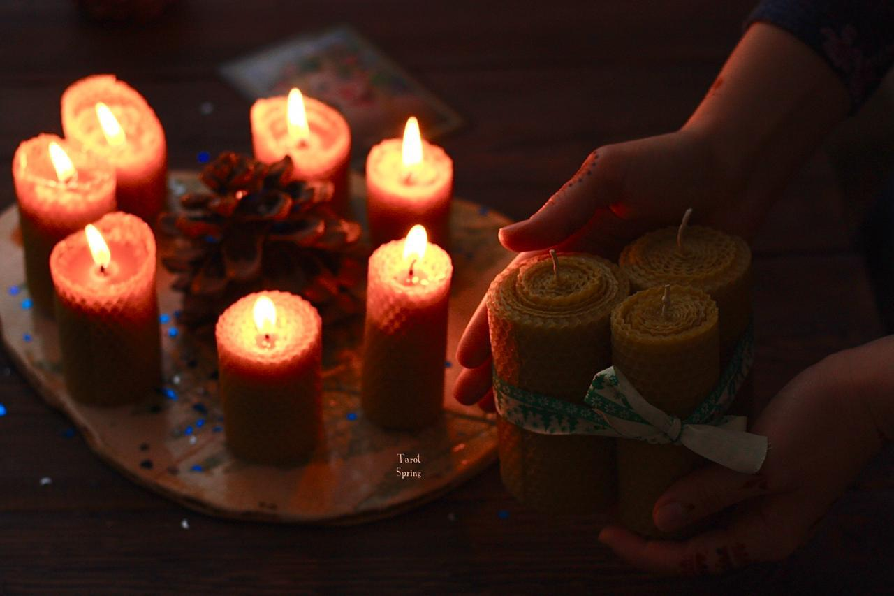 свечи из натурального воска