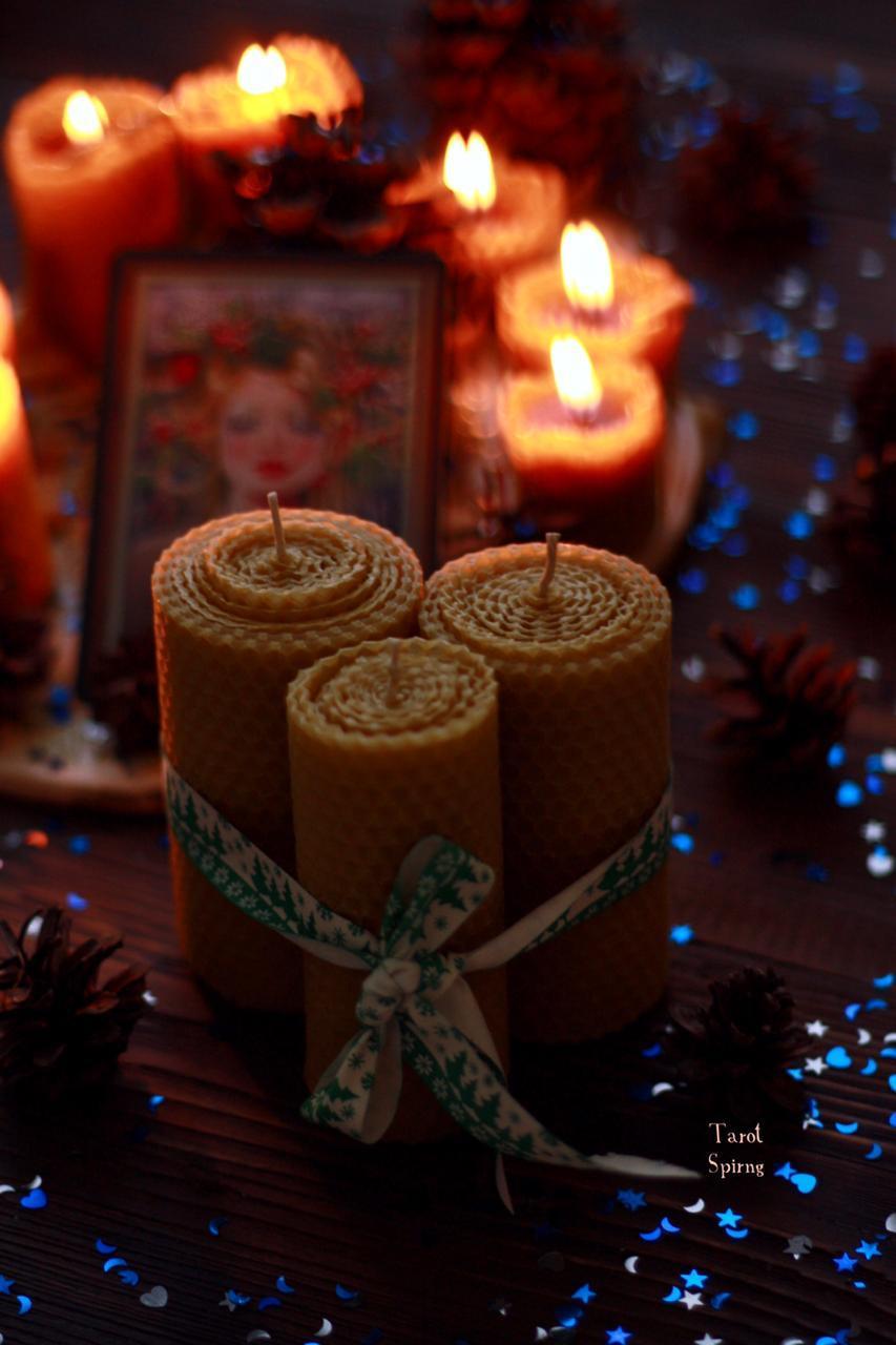 купить свечи из натурального воска